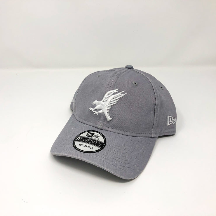 New Era 9Twenty Adjustable Cap - White on Grey