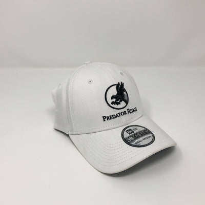 New Era 39Thirty Fitted Cap - Black on White