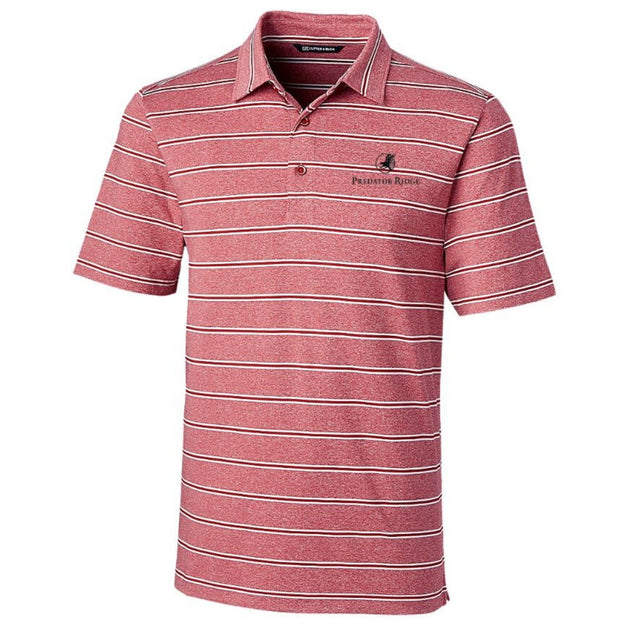 Forge Polo Heather Stripe