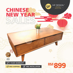 (Free Delivery) MFD Premium River Coffee Table  Living Room Table / Hall Table / Tea Table / Side Sofa Table / Meja Kopi