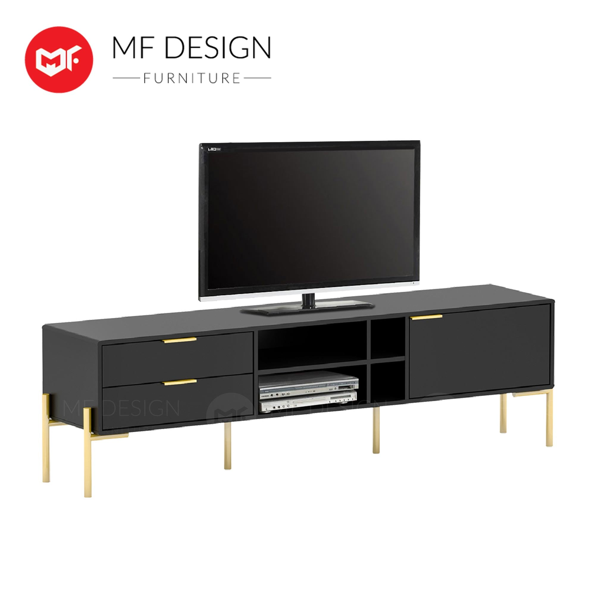 GOLD ELEGANT TV CABINET