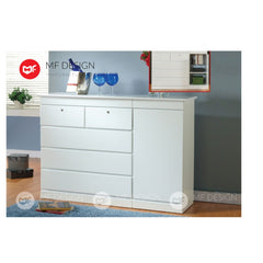 mf design boyal chest drawer layer storage cabinet wardrobe / almari baju / cabinet / storage 2 / drawer cabinet