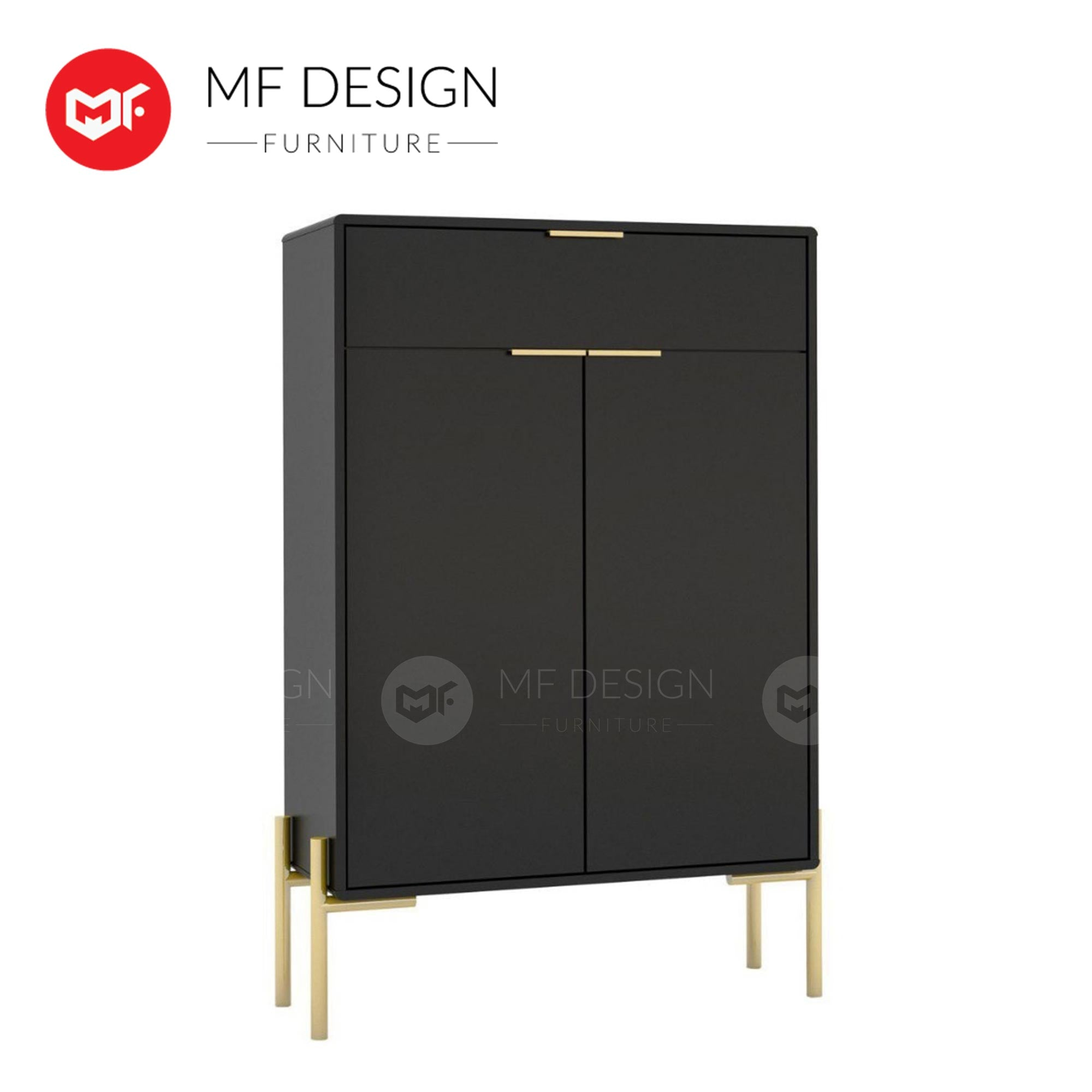 GOLD ELEGANT Shoes Cabinet