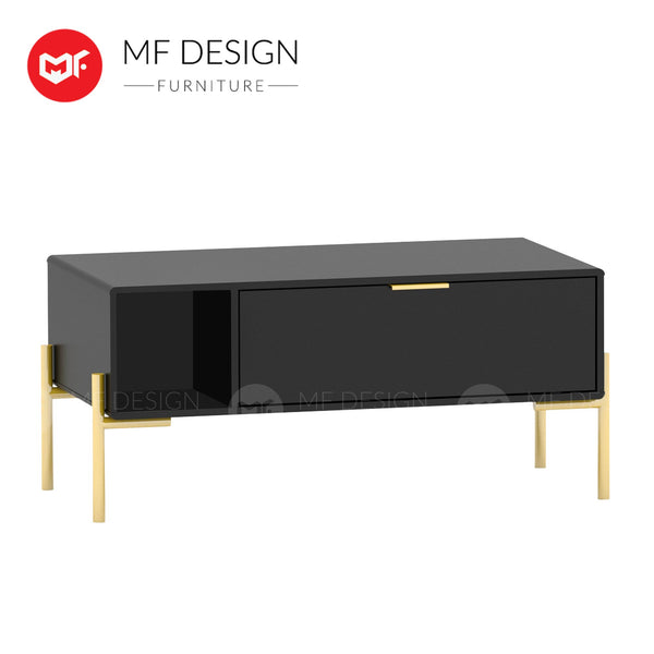 GOLD ELEGANT COFFEE TABLE