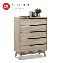FILLO CHEST OF 5 DRAWER Chest Drawer