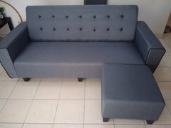 MF DESIGN ASCONT 3 SEATER L-SHAPE SOFA SET