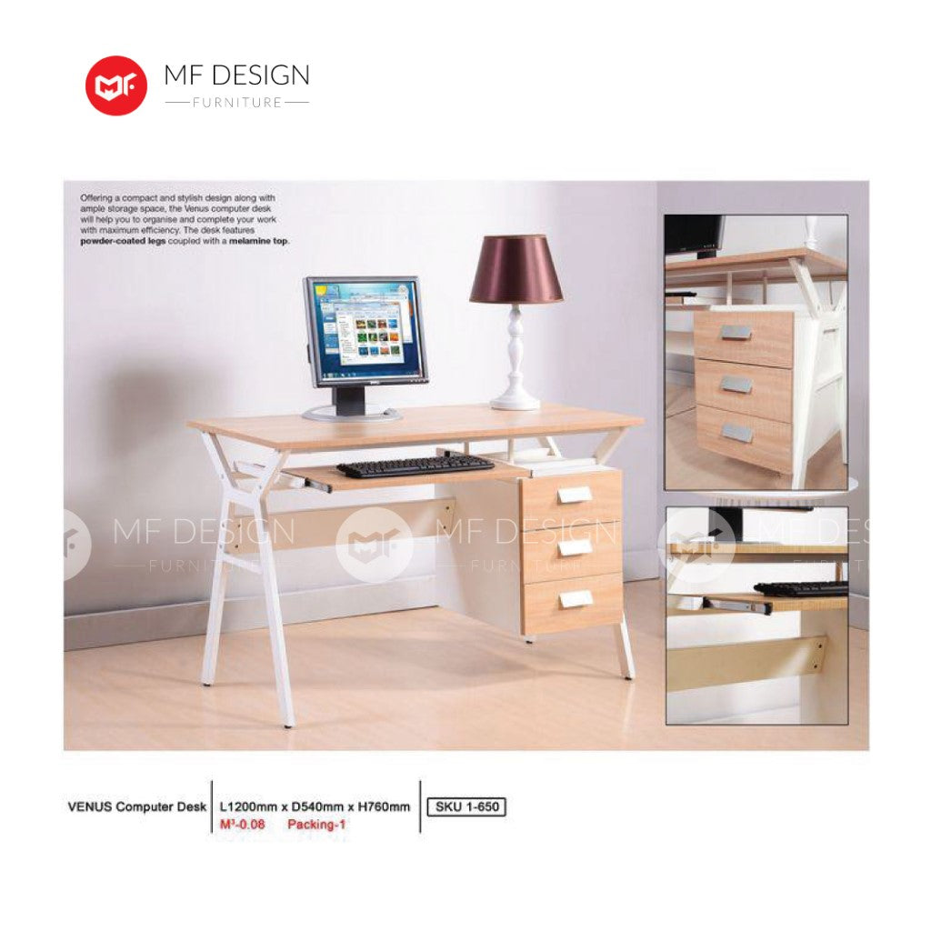 mf design paliy computer desk / office table / study table