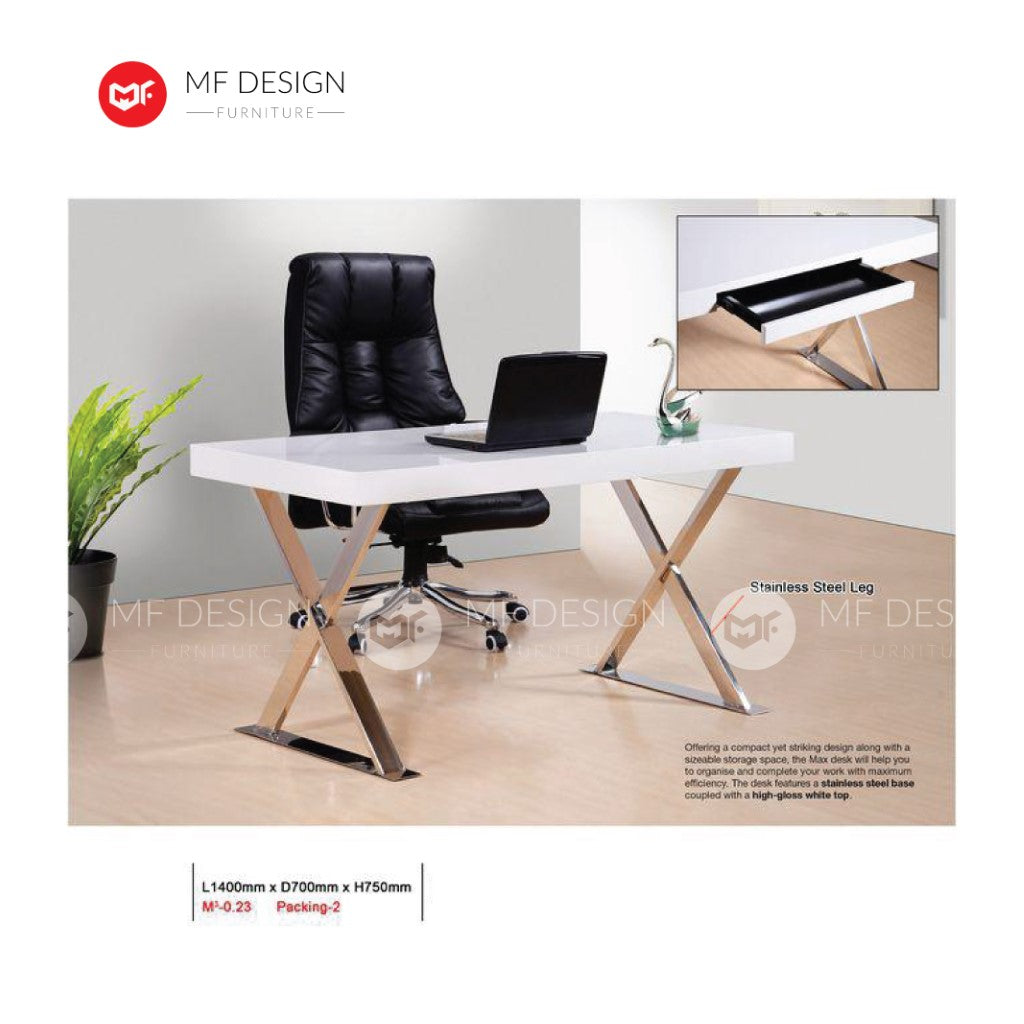 mf design galit computer desk / office table / study table