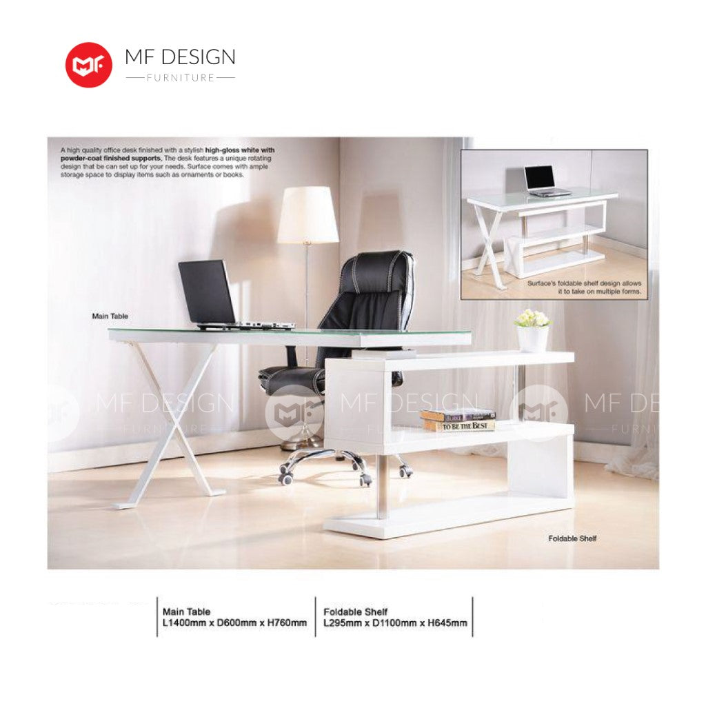 mf design collet office desk / computer desk / office table / study table
