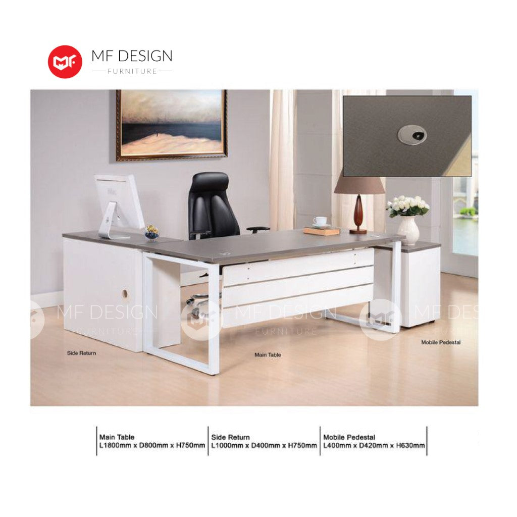 mf design genda office desk / computer desk / office table / study table
