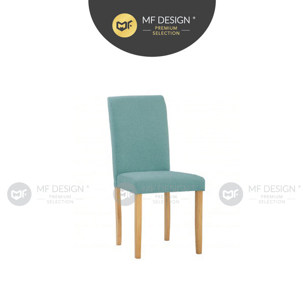 MFD Premium Leonard Dining Chair / Wooden Chair / Solid Rubber Wood / Kerusi Makan Kayu Getah / Living Room / Scandinavian