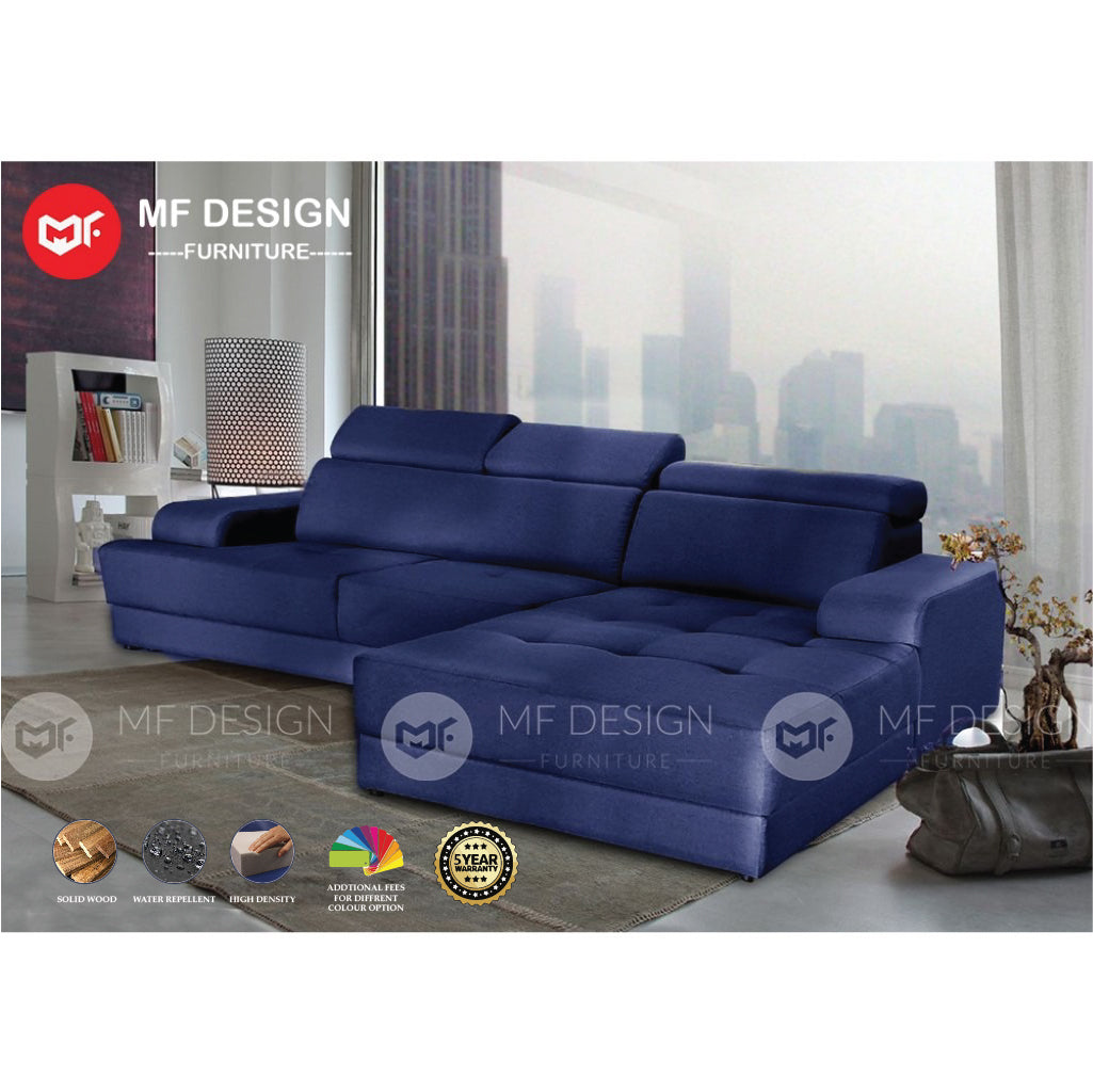 GOLDEN HOK L SHAPE SOFA