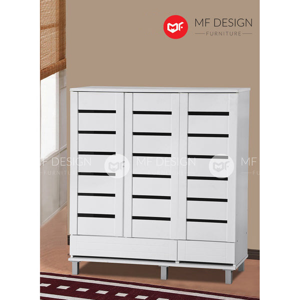 WHITNEY 3 DOOR SHOE CABINET
