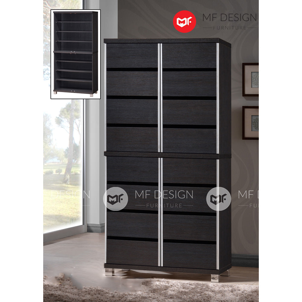REV 4 DOOR SHOE CABINET