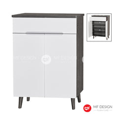 REMO 2 DOOR WITH DRAWER SHOE CABINET