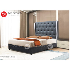 mf design lobo divan Divan With Fabric Leather Queen & King Size Bed Frame / Katil Queen & King / Bed Frame Queen & King / Bed Frame single  / Bed Frame super single / Queen Bed / Single Bed / Super Single Bed / King Bed