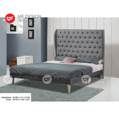 mf design cozy divan divan with fabric leather queen & king size bed frame / katil queen & king / bed frame queen & king / bed frame single  / bed frame super single / queen bed / single bed / super single bed / king bed