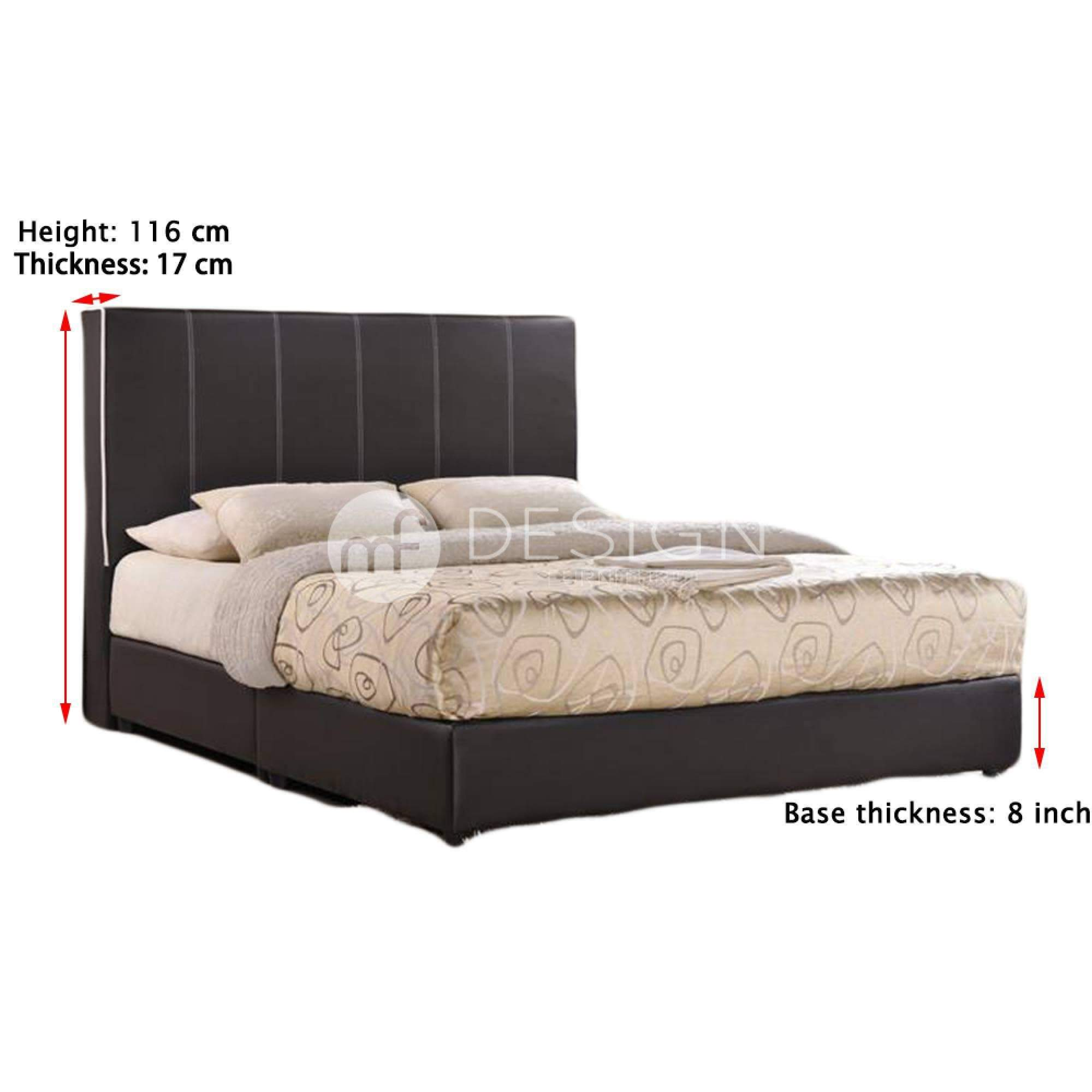 mfdesign88 AURORA QUEEN SIZE DIVAN BED