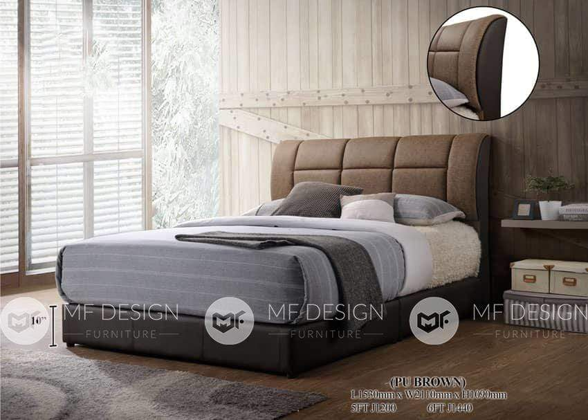 68 bed MF DESIGN Fanny Divan Bed Queen / King