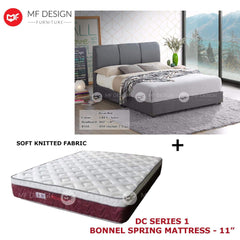 mfdesign88 bed Queen / Bed+DC Series 1 MF DESIGN POYIN BED WITH MATTRESS SINGLE / SUPER SINGLE / QUEEN / KING KATIL