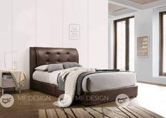 68 bed Queen / Brown MF DESIGN Alexia Divan Bed (3D PVD) Queen / King