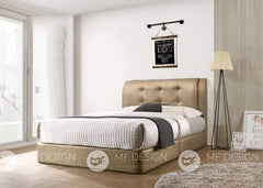 68 bed Queen / Gold MF DESIGN Alexia Divan Bed (3D PVD) Queen / King