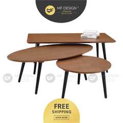 MFD Premium Cady Round / Rectangular/ Oval Coffe Table