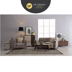 MFD Premium Cady Round / Rectangular/ Oval Coffe Table Living Room Table Hall Table Tea Table Side Sofa Table Meja Kopi