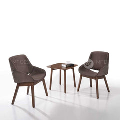 mfdesign88 Chairs Lounge Chair 632 + Side Table ET8029