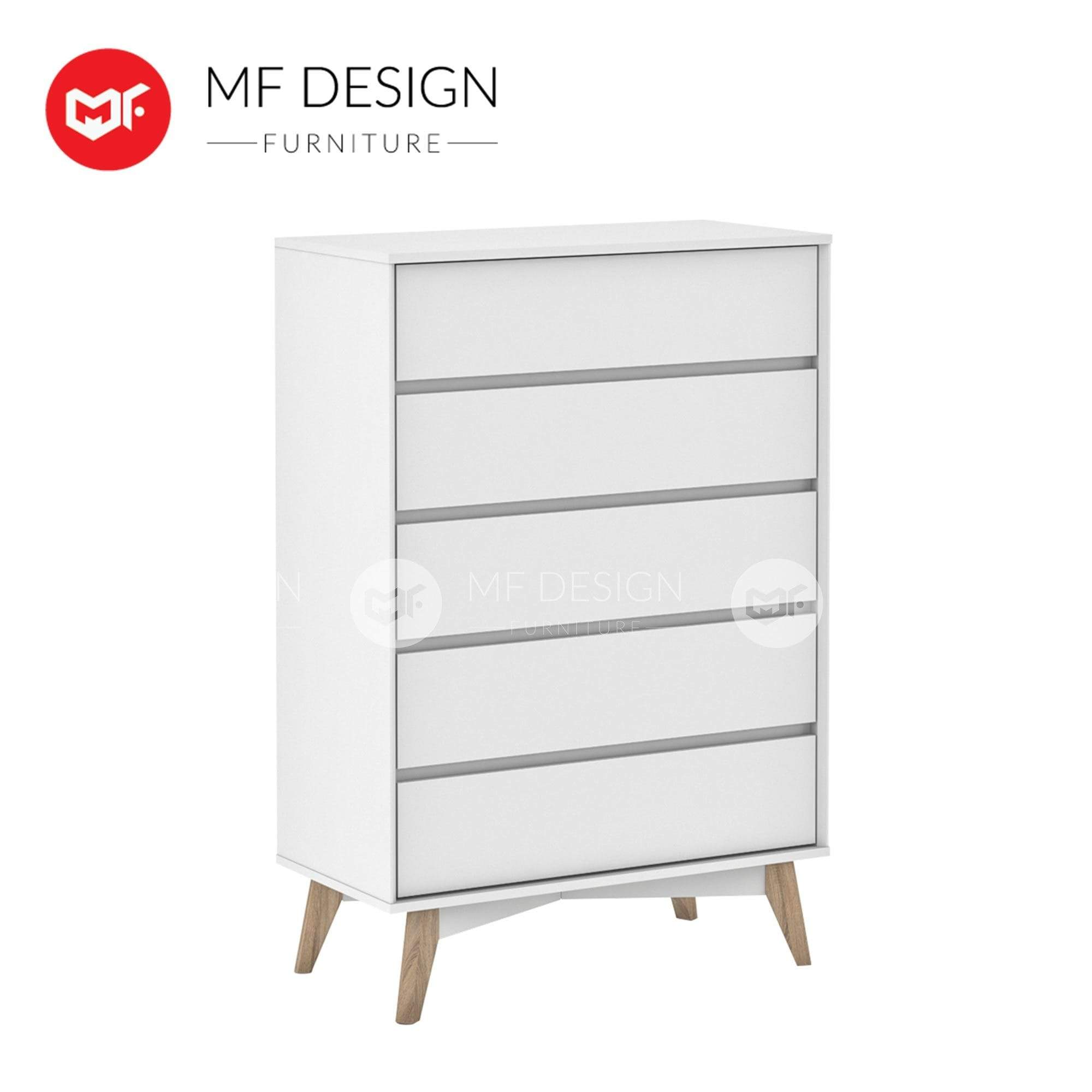 mfdesign88 Chest Drawer Lydia CHEST OF 5 DRAWER