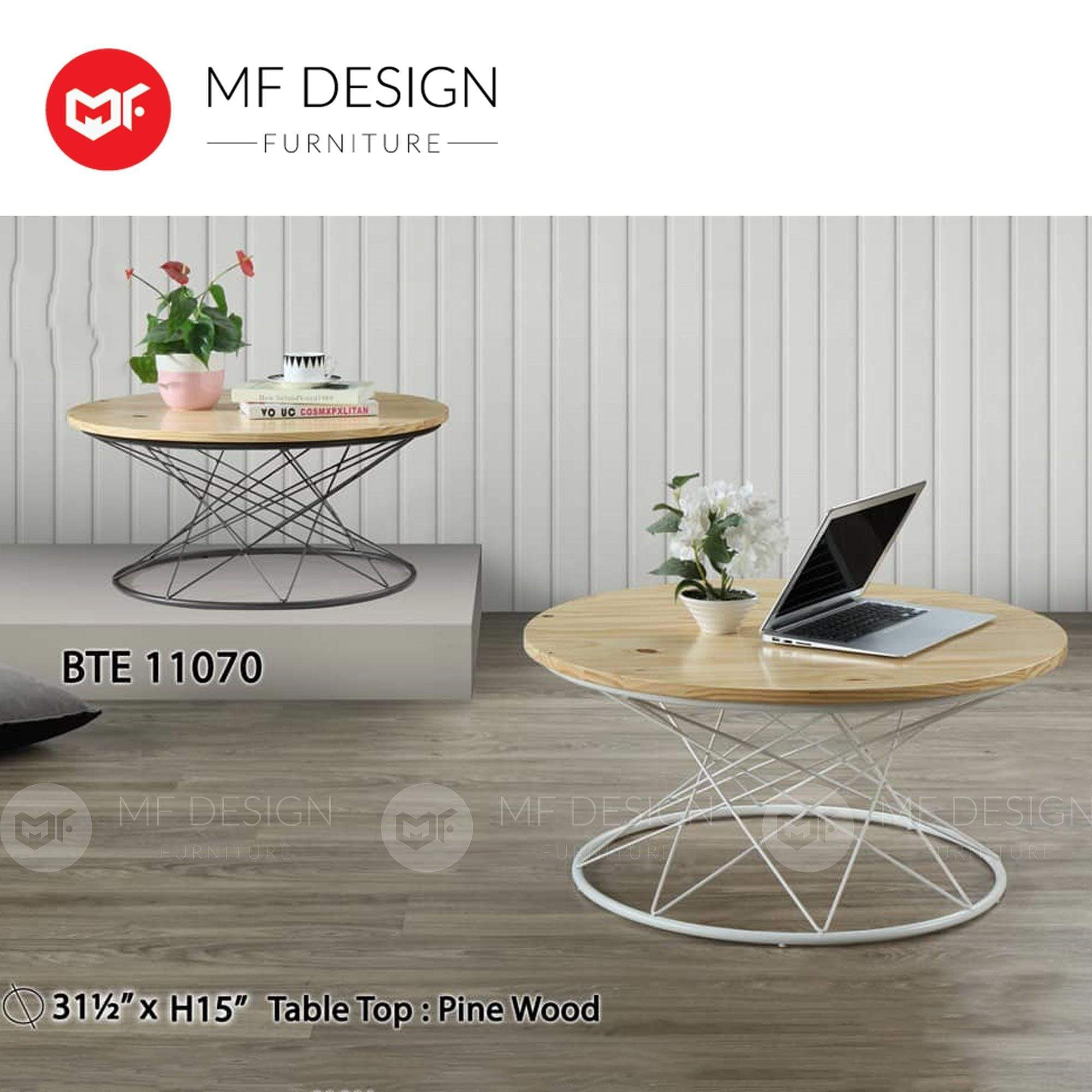 BENG TIAN Coffee table MF DESIGN LUCAS COFFEE TABLE ( BLACK  / WHITE  )