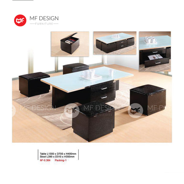 mf design lando Coffee Table / Lounge Table / Side Table / Relax Table / Hall Table / Tea Table / Drinks Table /