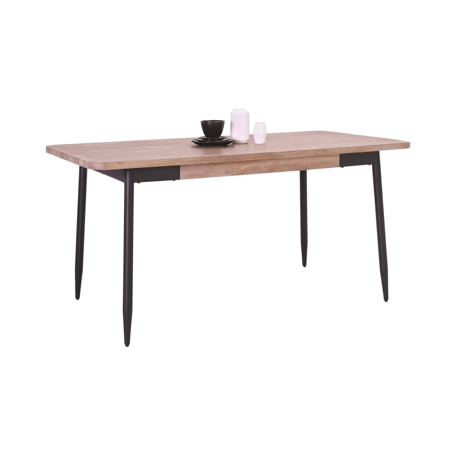 mfdesign88 DACHI 1.6M Dining Table In Taupe Colour Top