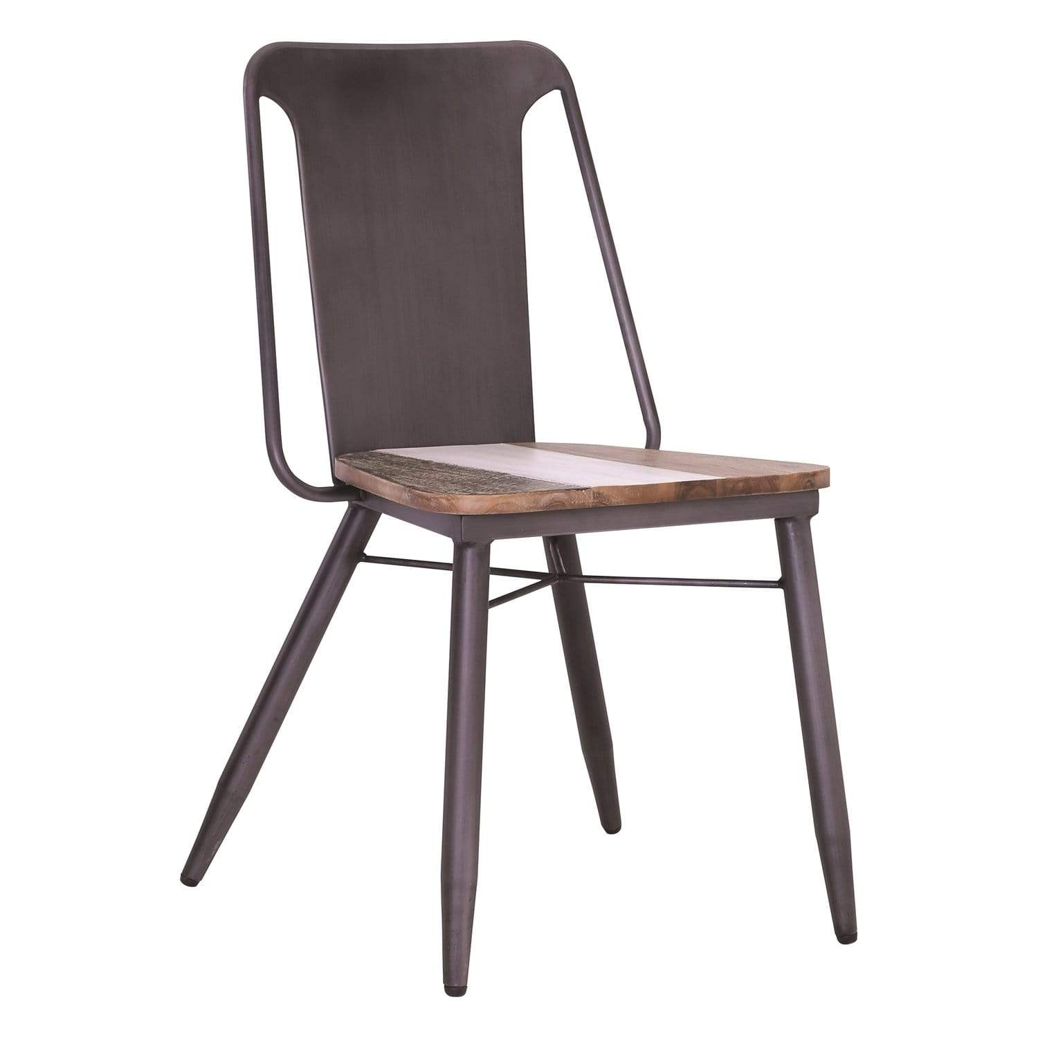 mfdesign88 Dachi Dining Chair In Grey Anthracite Frame