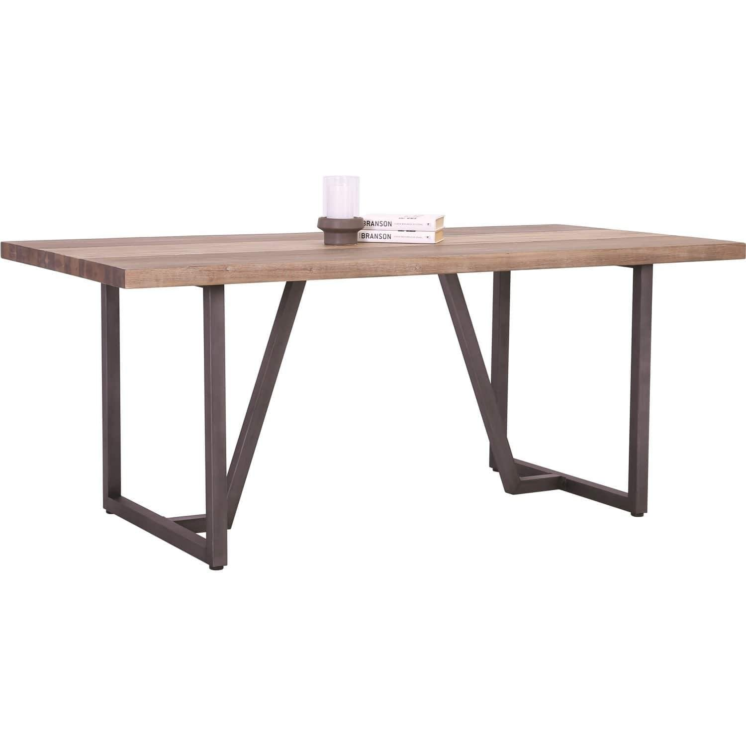 mfdesign88 Dachi Dining Table With Grey Anthracite Grey