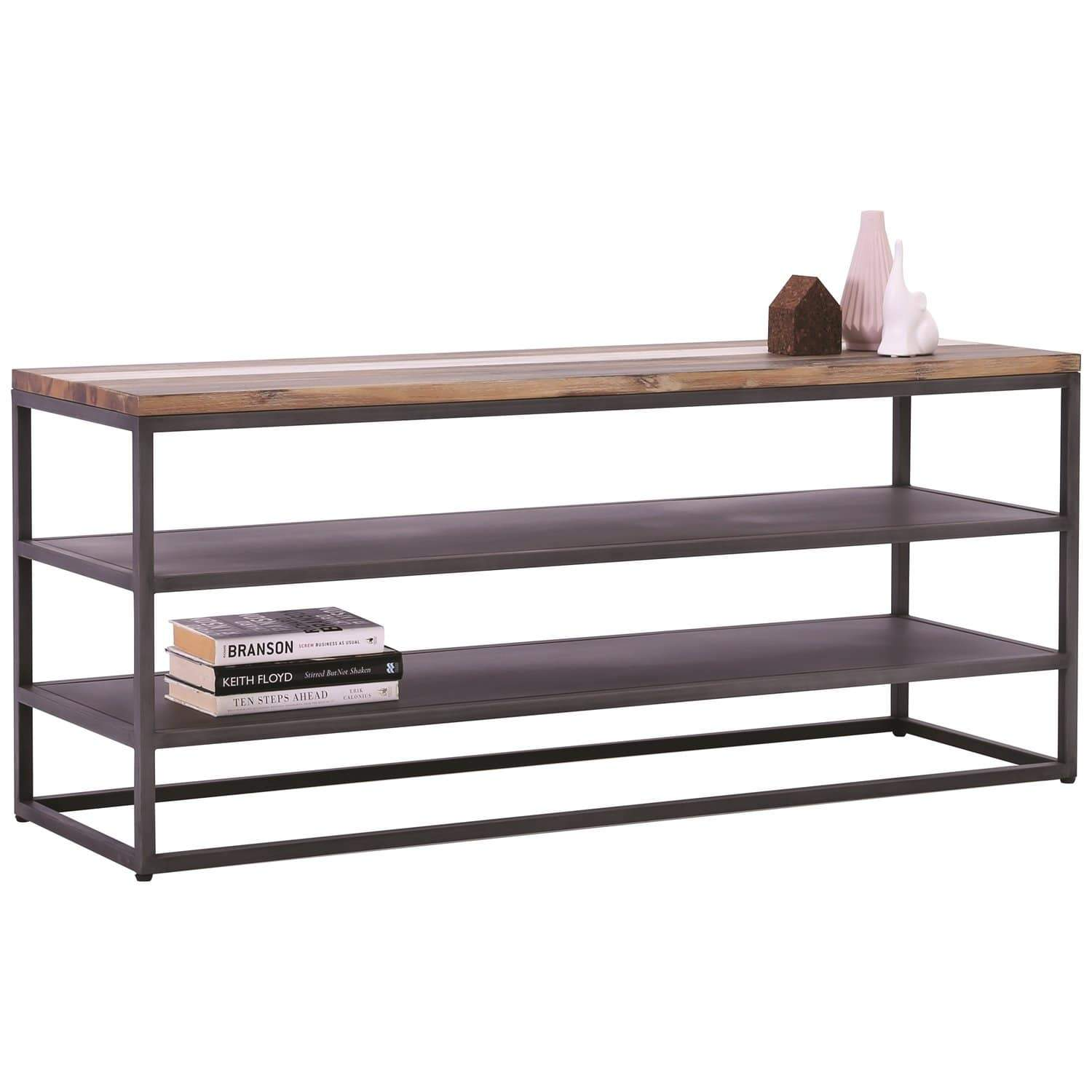 mfdesign88 Dachi TV Stand With Grey Anthracite Frame