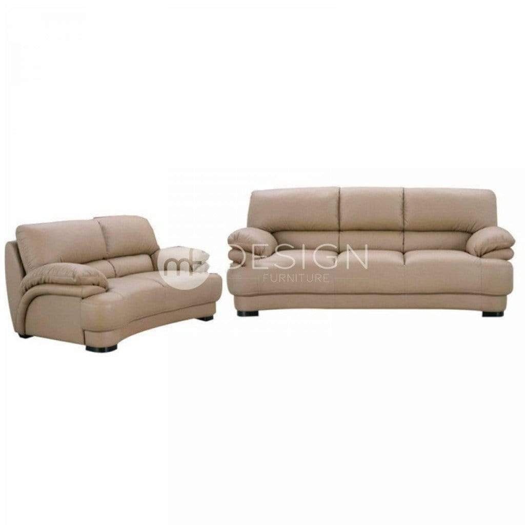 11 DAVIN SOFA SET 2+3 SEATER (CASA LEATHER)