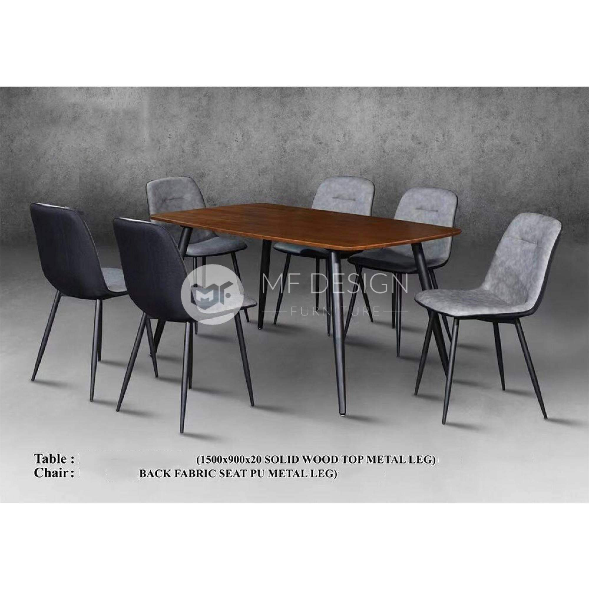 mfdesign88 Dining Sets Archie Dining Set ( 1 Table + 6 Chairs )
