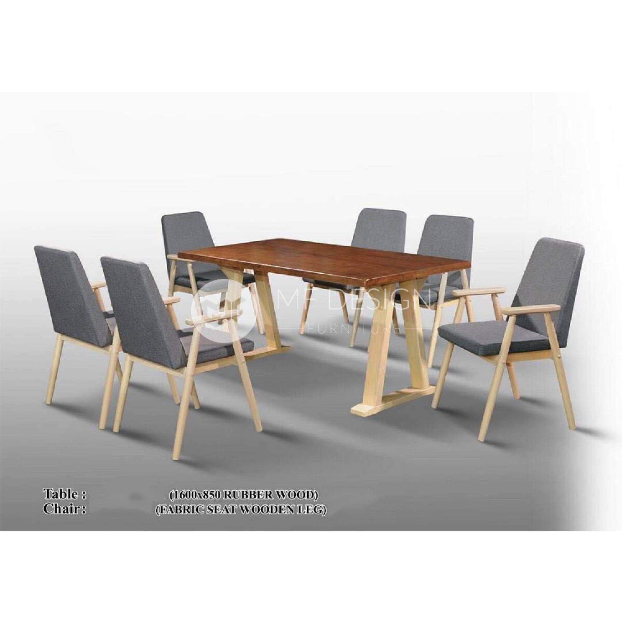 mfdesign88 Dining Sets Boone Dining Set ( 1 Table + 6 Chairs )