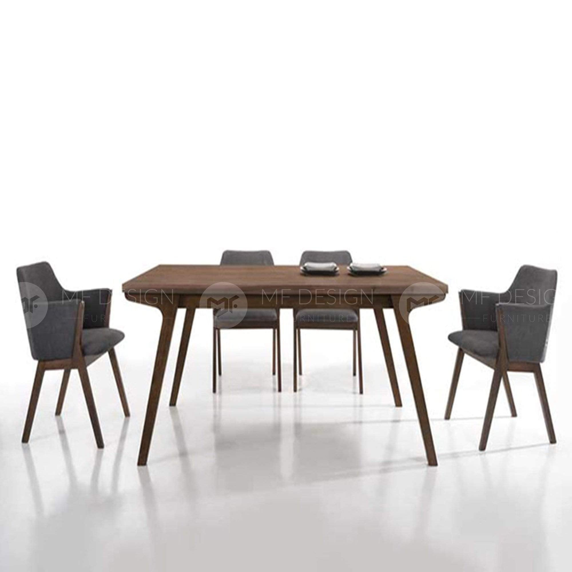 mfdesign88 Dining Sets Dining Set (1 Table + 4 Chairs)