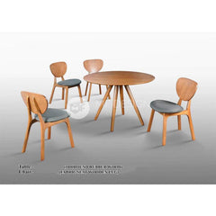 mfdesign88 Dining Sets Eleanor Dining Set ( 1 Round Table + 4 Chairs )