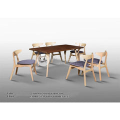 mfdesign88 Dining Sets Eleanor Dining Set ( 1 Table + 6 Chairs )