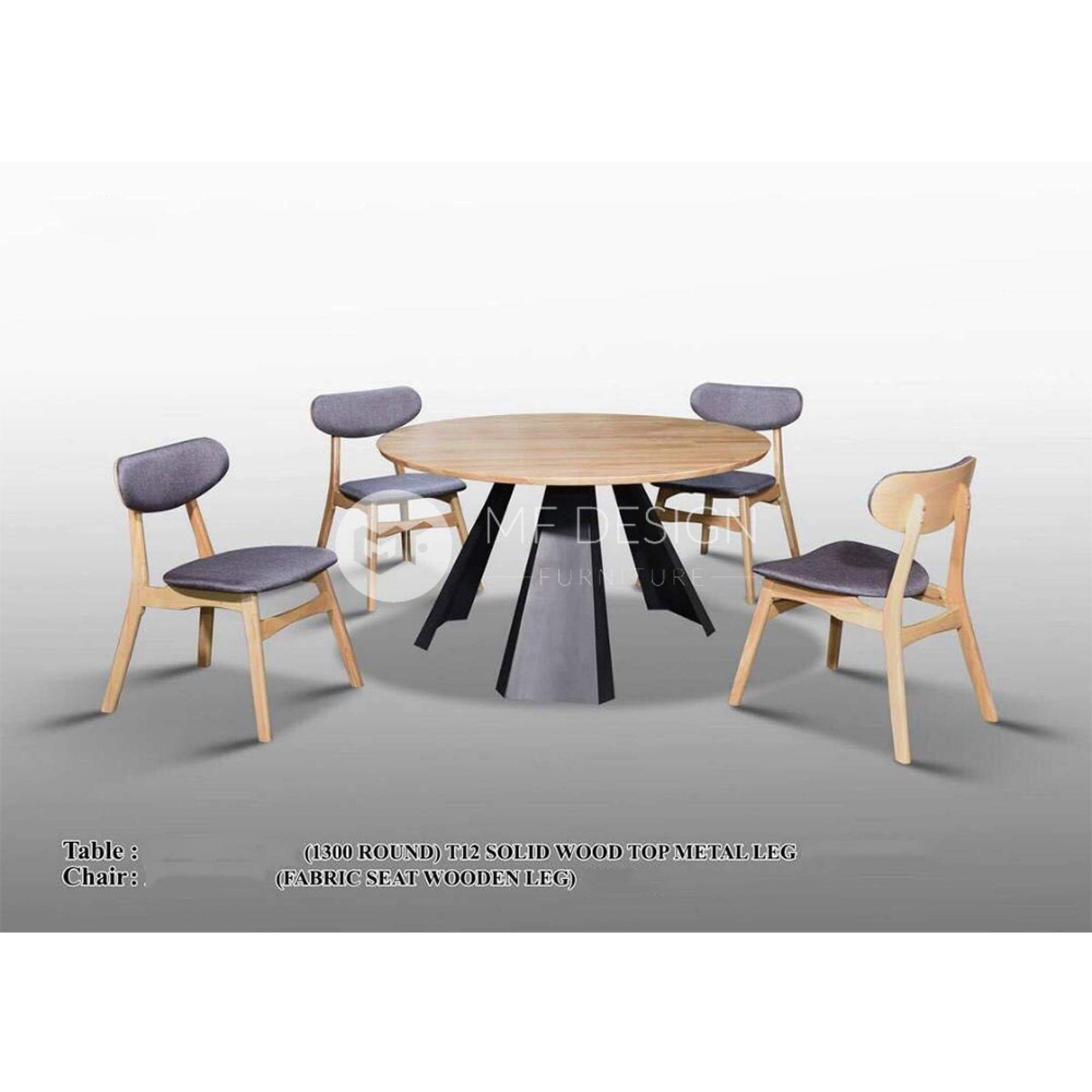 mfdesign88 Dining Sets Eliot Dining Set ( 1 Table + 4 Chairs )