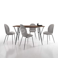 mfdesign88 Dining Sets Harping Leg Dining Set (1 Table + 4 Chairs or 6 Chairs)