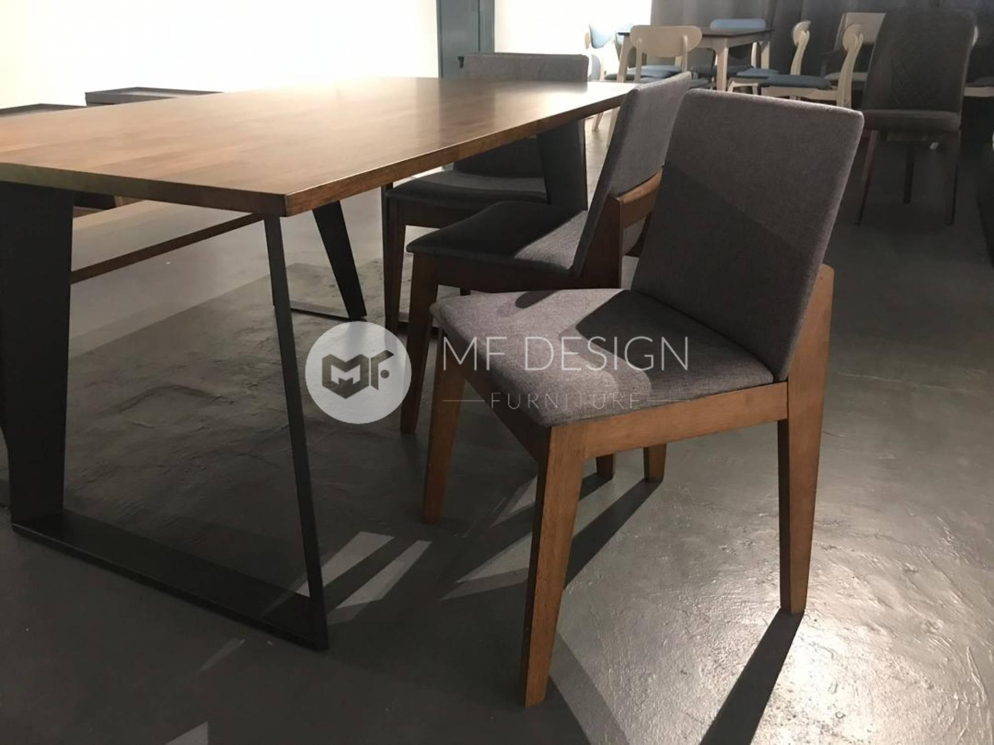 mfdesign88 Dining Sets Henry Dining Set ( 1 Table + 4 Chairs + 1 Bench )