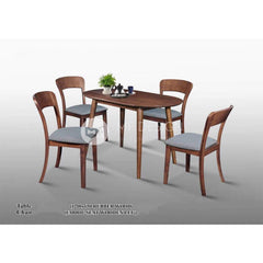 mfdesign88 Dining Sets Lianna Dining Set ( 1 Table + 4 Chairs )
