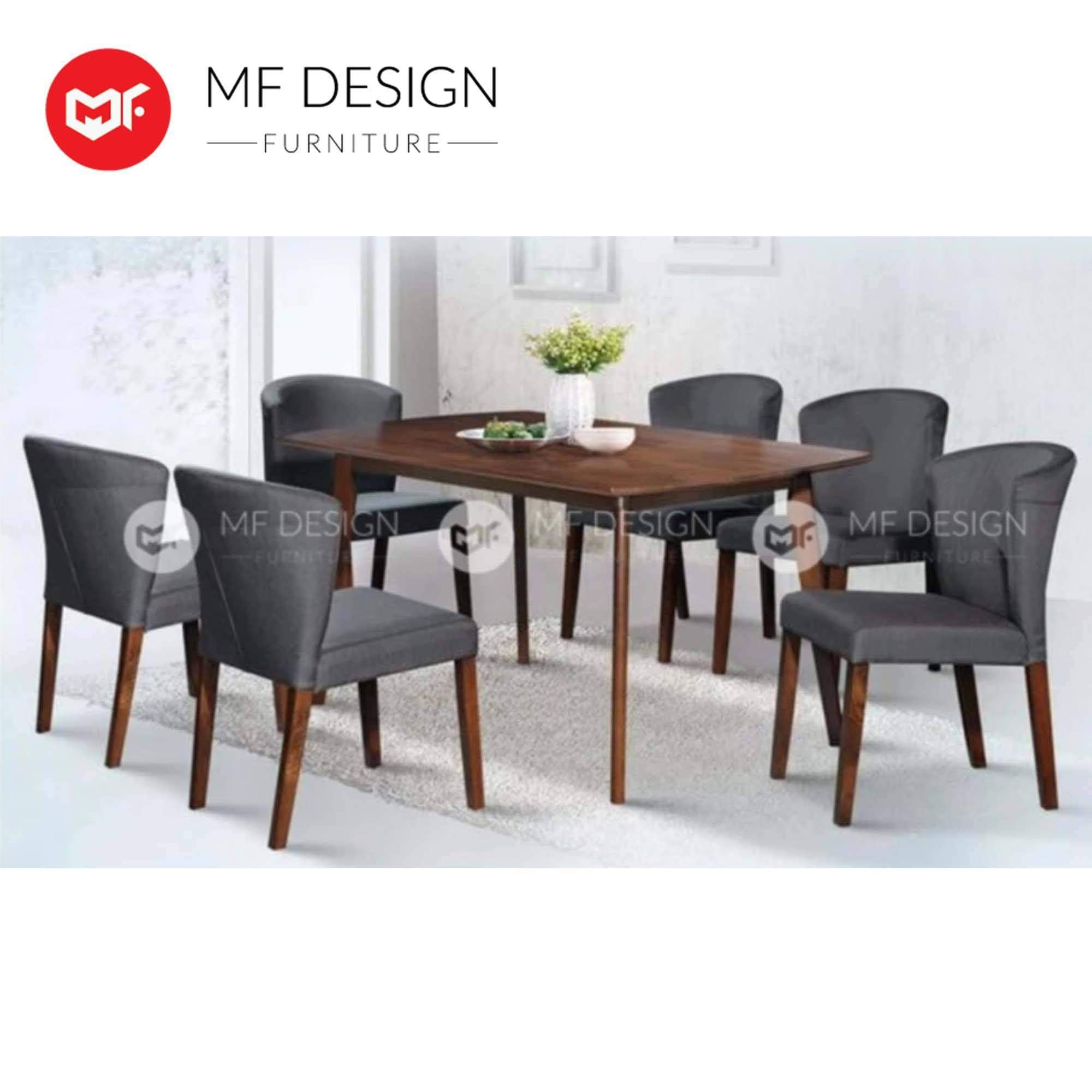 mfdesign88 Dining Sets MF DESIGN BELLVANIA 1+6 DINING SET
