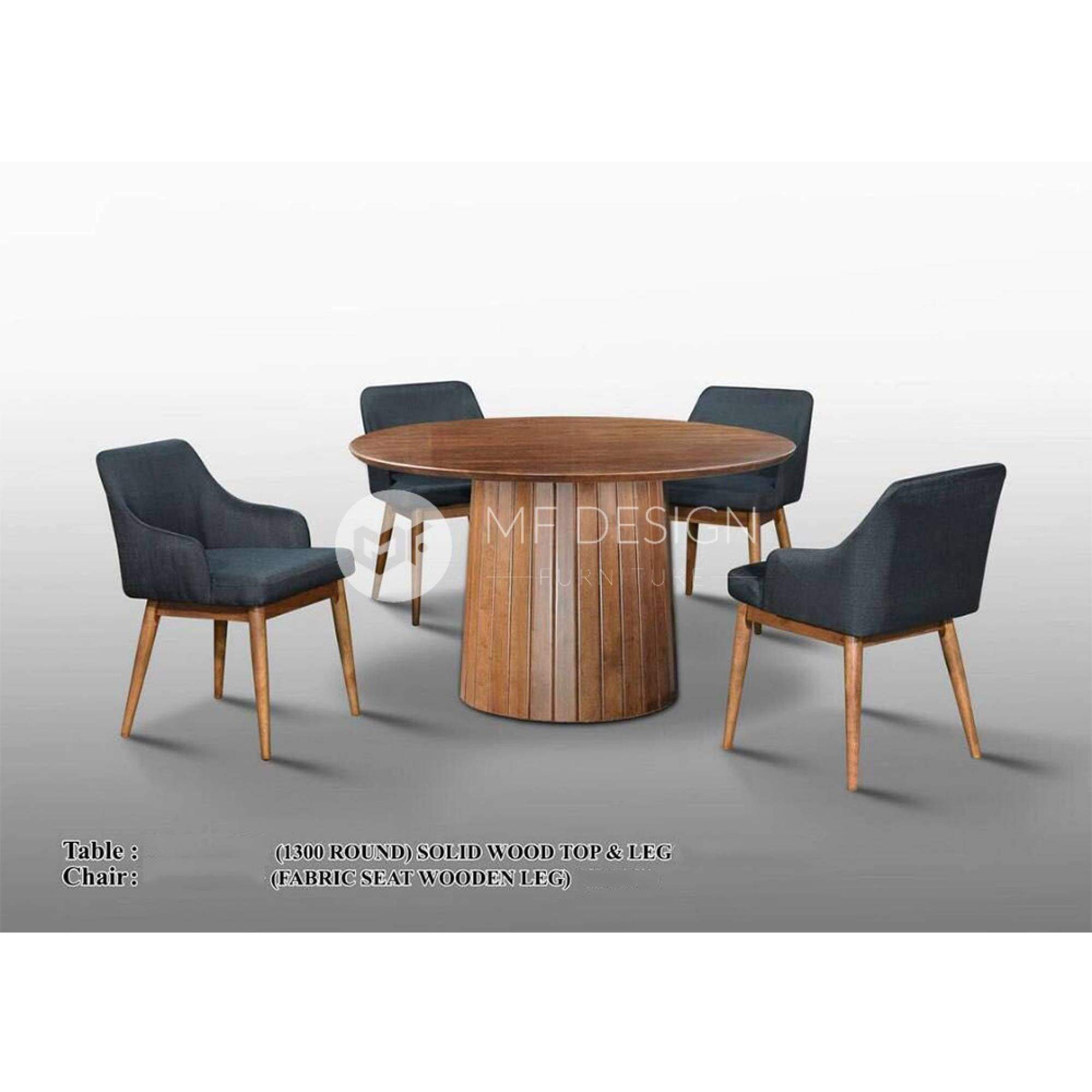 mfdesign88 Dining Sets Mike Dining Set ( 1 Table + 4 Chairs )