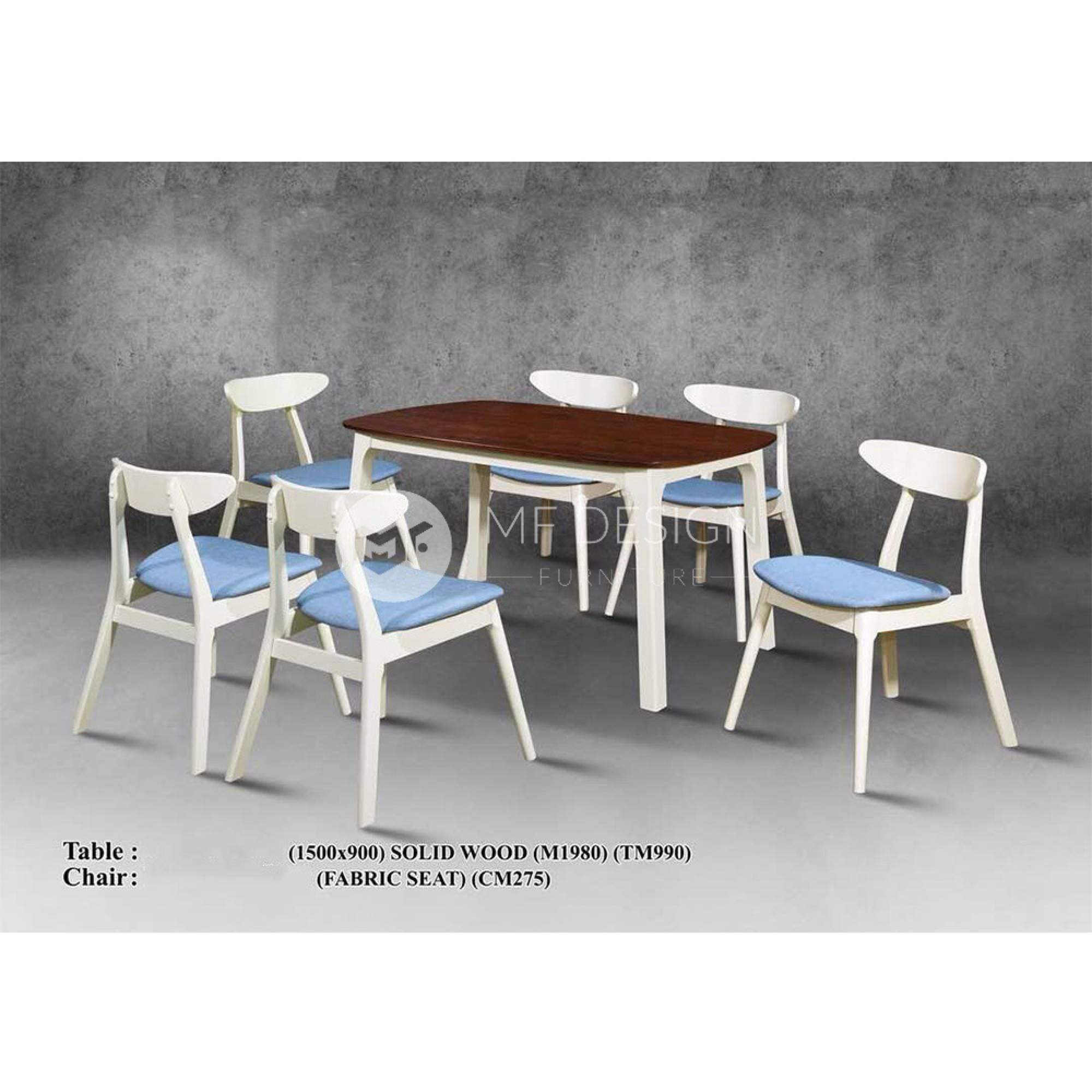 mfdesign88 Dining Sets Oaklyn Dining Set ( 1 Table + 6 Chairs )