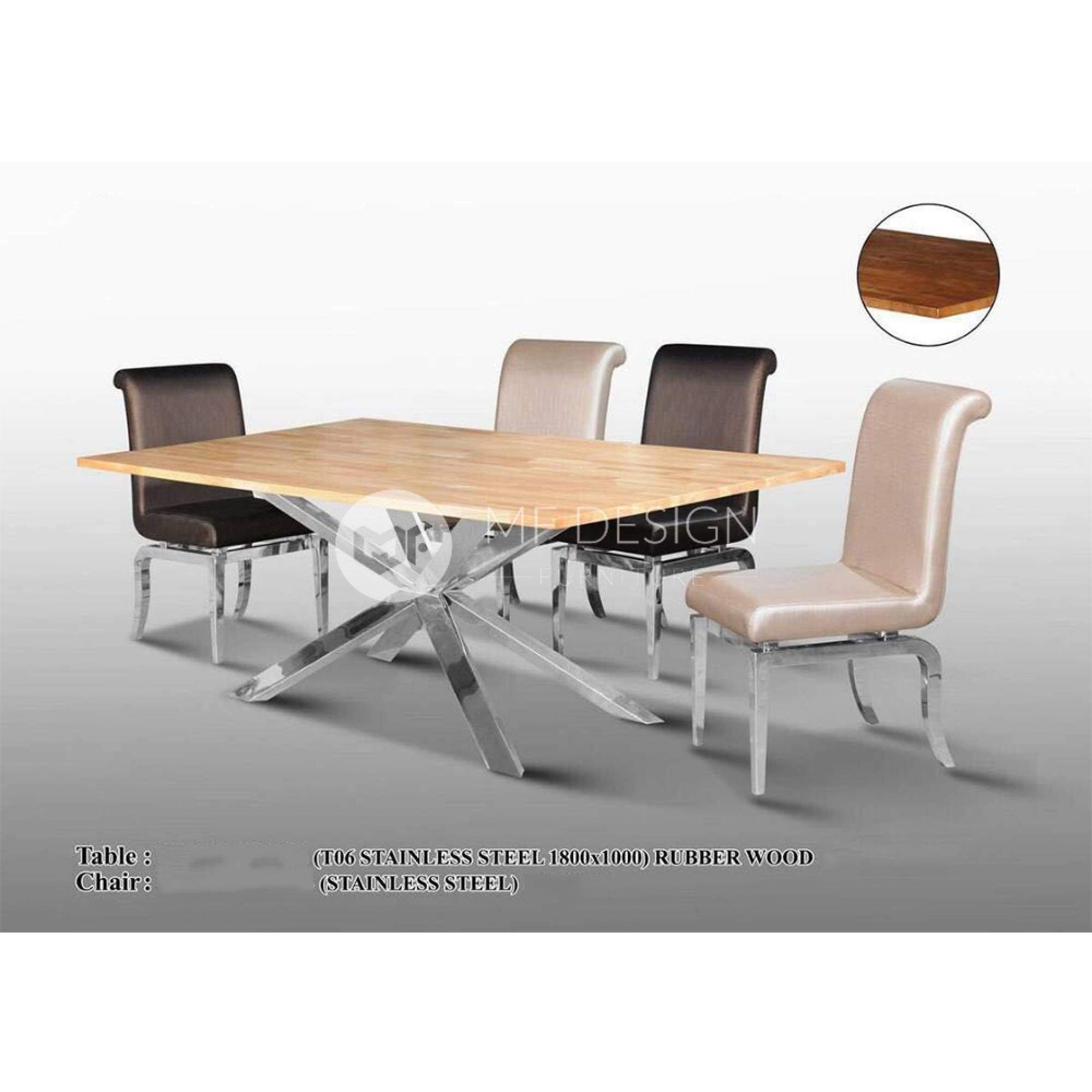 mfdesign88 Dining Sets Revel Dining Set ( 1 Table + 6 Chairs  )